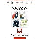 Bloc layout papier spécial marqueur 'Manga art paper' - A4 - Schoellershammer
