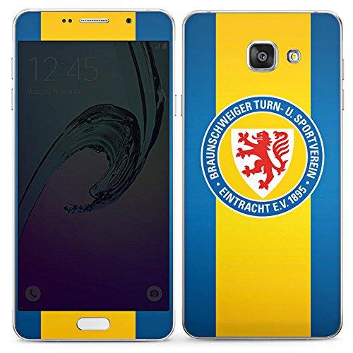 DeinDesign Samsung Galaxy A7 2016 Folie Skin Sticker aus Vinyl-Folie Aufkleber Eintracht Braunschweig Fanartikel Football