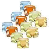 Usex Sense 12 Pack Bóxers Calzoncillos Ropa Interior Algodon para Niños 2-10 años(5-7 años,3055L)