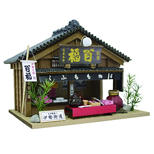 Japanese sweets shop 8682 of Ise specialty Ri Billy handmade Dollhouse Kit Road Bra ~ (japan import)