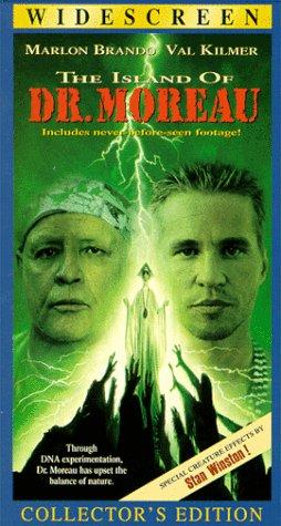 Vhs - A Ilha Do Dr. Moreau - Marlon Brando E Val Kilmer