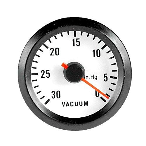 """ESUPPORT Car Motor Vehicle Black Face 2"""" 52mm Pointer Vacuum Gauge Meter LED Light"""
