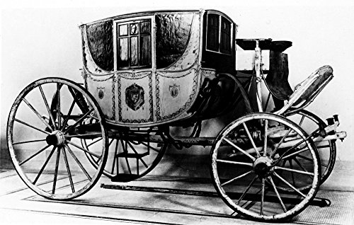 Preisvergleich Produktbild The Poster Corp Coach 1770. / Nthe Beekman Family Coach Used In New York City from About 1770. Kunstdruck (60, 96 x 91, 44 cm)