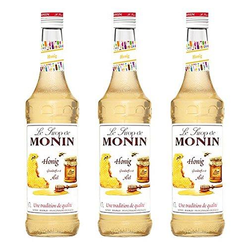 Monin Sirup Honig, 0,7L 3er Pack