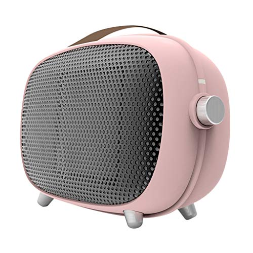 Mini Heater,electric Heaters,small Aircon,air Cooler And Heater,ceramic Heater,110V/220V,three-speed Adjustment,Small And Portable,Fast Heating,pink