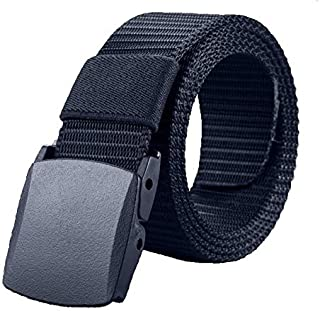 Blue Plastic Belt For Men