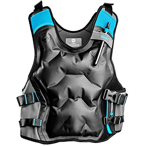 Wildhorn Inflatable Snorkel Vest - Premium Snorkel Jacket for Adults. Balanced Flotation, Secure Lock and Comfort Fit. Perfect for Snorkeling, Paddle-Boarding and Other Low Impact Water Sports.