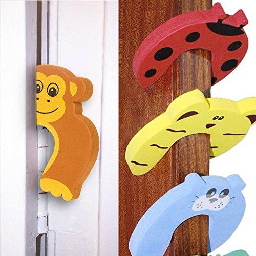 DoGeek Bloque Porte Anti Pincement Protège Doigt Bloque-portes et fenêtres Enfant...