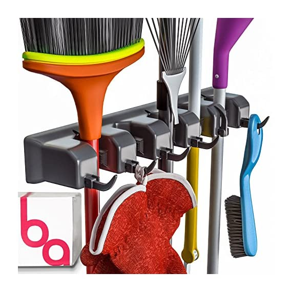 Berry-Ave-Broom-Holder-and-Garden-Tool-Organizer-Rake-or-Mop-Handles-Up-to-125-Inches