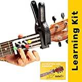 GUITAR BRO - 30 Day Learning Kit (+ Acoustic Guitars Accessories like Picks, Video Lectures, Song Book, Learning Device, Progress Tracker, 10 Days Mentorship)
