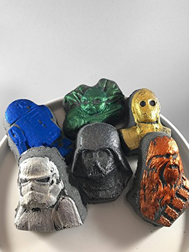 6 Star Wars Bath Bombs