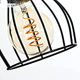Pendelleuchte Gondo Metall/Holz LED - 3