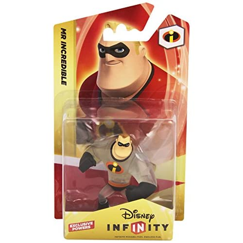 Disney - Mr. Incredible, Personaggio per Gioco Infinity, Compatibile con più Piattaforme