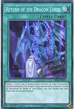 YuGiOh : SR02-EN025 1st Ed Return of the Dragon Lords Super Rare Card - ( Yu-Gi-Oh! Single Card )