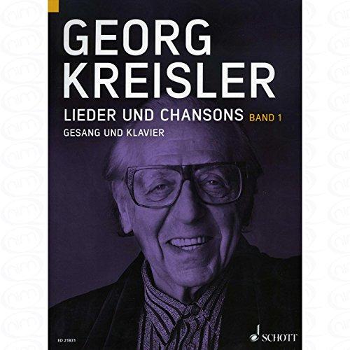 liedjes en Chansons 1 - gearrangeerd voor zang en andere bezetting - Piano [Noten/Sheetmusic] Componist : KREISLER GEORG