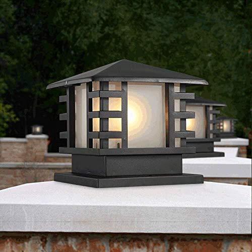 HLR Paalverlichting voor buitenshuis regenbescherming palen licht IP44 zuil lamp zuil lantaarns poort Villa zwembad terras hek straatverlichting