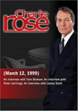 Charlie Rose March 12, 1999