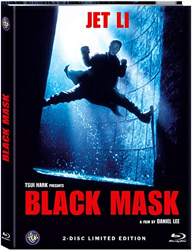 Black Mask 2 Disc Limited Mediabook Edition DVD Blu-ray