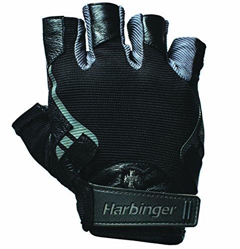 Harbinger Herren 360258 Handschuhe, Black, Large