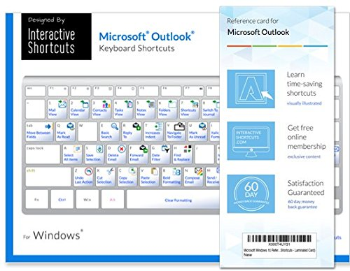 Microsoft Outlook 2016 - Reference Guide - Keyboard Shortcuts - For Window