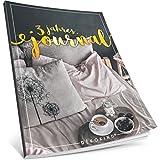 Dékokind® 3 Jahres Journal: Ca. A4-Format, 190+ Seiten, Vintage Softcover • Dicker Jahreskalender, Tagebuch für Erwachsene, Kalenderbuch • ArtNr. 43 Frühstück • Ideal als Geschenk