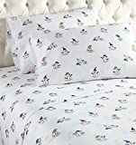 Micro Flannel Sheet Set - Snowman (Full)