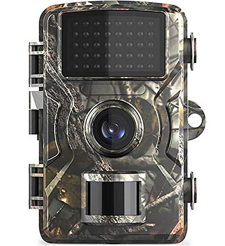 KTYX 12mp 1080p Cámara de Caza de Senderos Fácil de Configurar Vigilancia Salvaje 22tft Tft Visión Nocturna Camara de Exploración de Cámaras de Fototrampeo para Seguridad en el Hogar