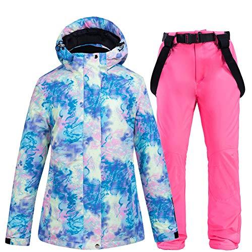 ETbotu - Disfraz de esqu para mujer, color Top + pantalon  paillettes, tamao small