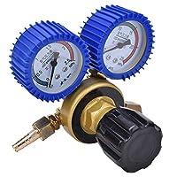 酸素圧力計、0.4-25Mpa酸素ガス減圧器空気流量レギュレーターゲージメーターはんだ付けセット酸素圧力計