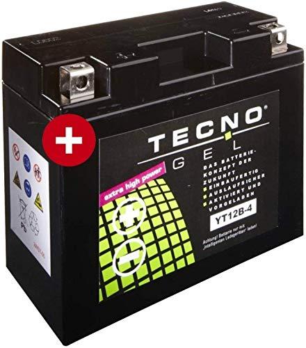 YT12B-4 TECNO GEL-Batterie für 848 848 Baujahr 2008-2010