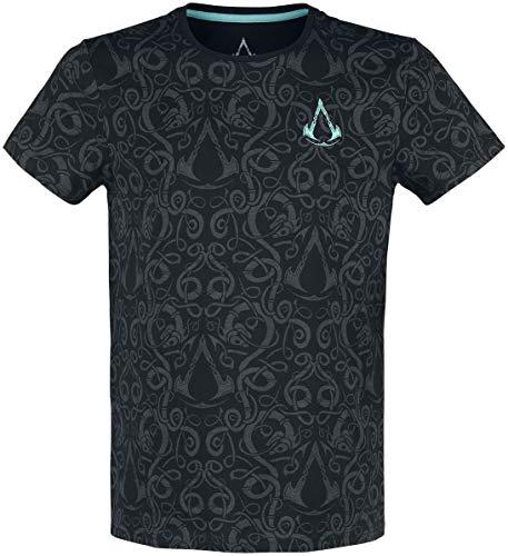 Assassin\'s Creed Valhalla - Nordic Männer T-Shirt schwarz S