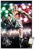 Trends International Poster Mount WWE - John Cena - Boom, 22.375' x 34', Premium Poster & Mount Bundle