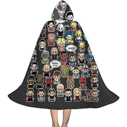 Niet van toepassing Capuchon Cape, Unisex Cosplay Rol Kostuums, Volwassen Robe Mantel, Dit is wat ik deed in de 90S Vampier Mantel, Halloween Party Decoratie Bovenkleding