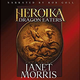 Dragon Eaters audiobook cover art
