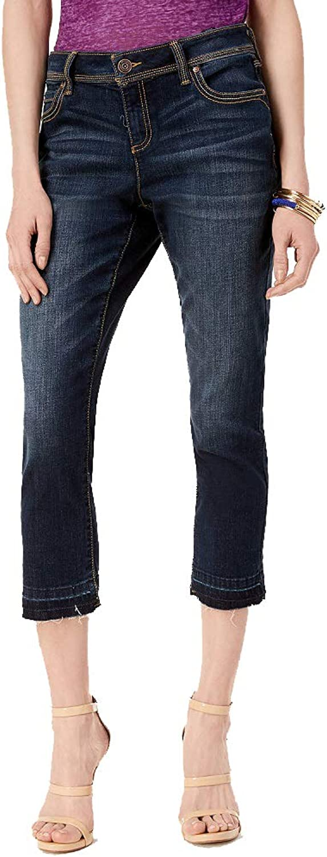 INC International Concepts I.N.C. StraightLeg Cropped Jeans