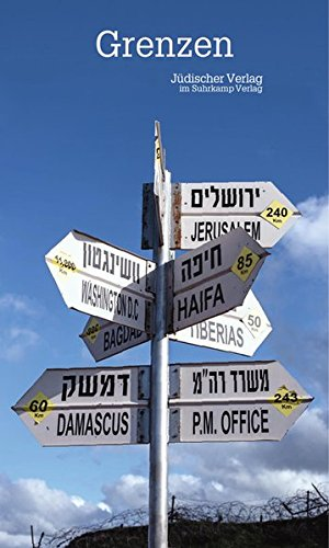 Grenzen: Jüdischer Almanach