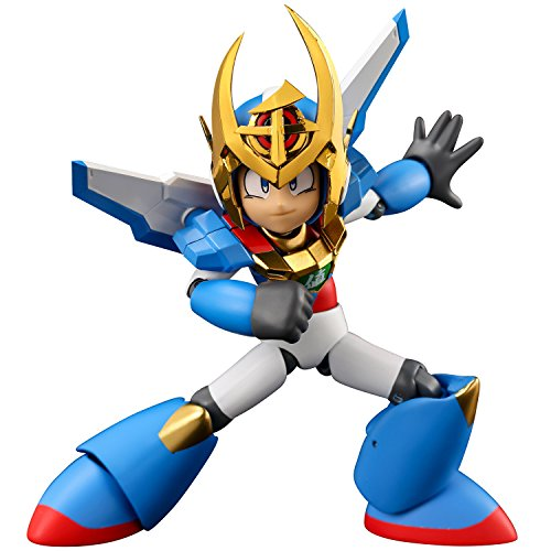 4 Inch Nel Mega Man 30th Anniversary x Sentinel 10th Anniversary Collaboration Mega Man Action Figure