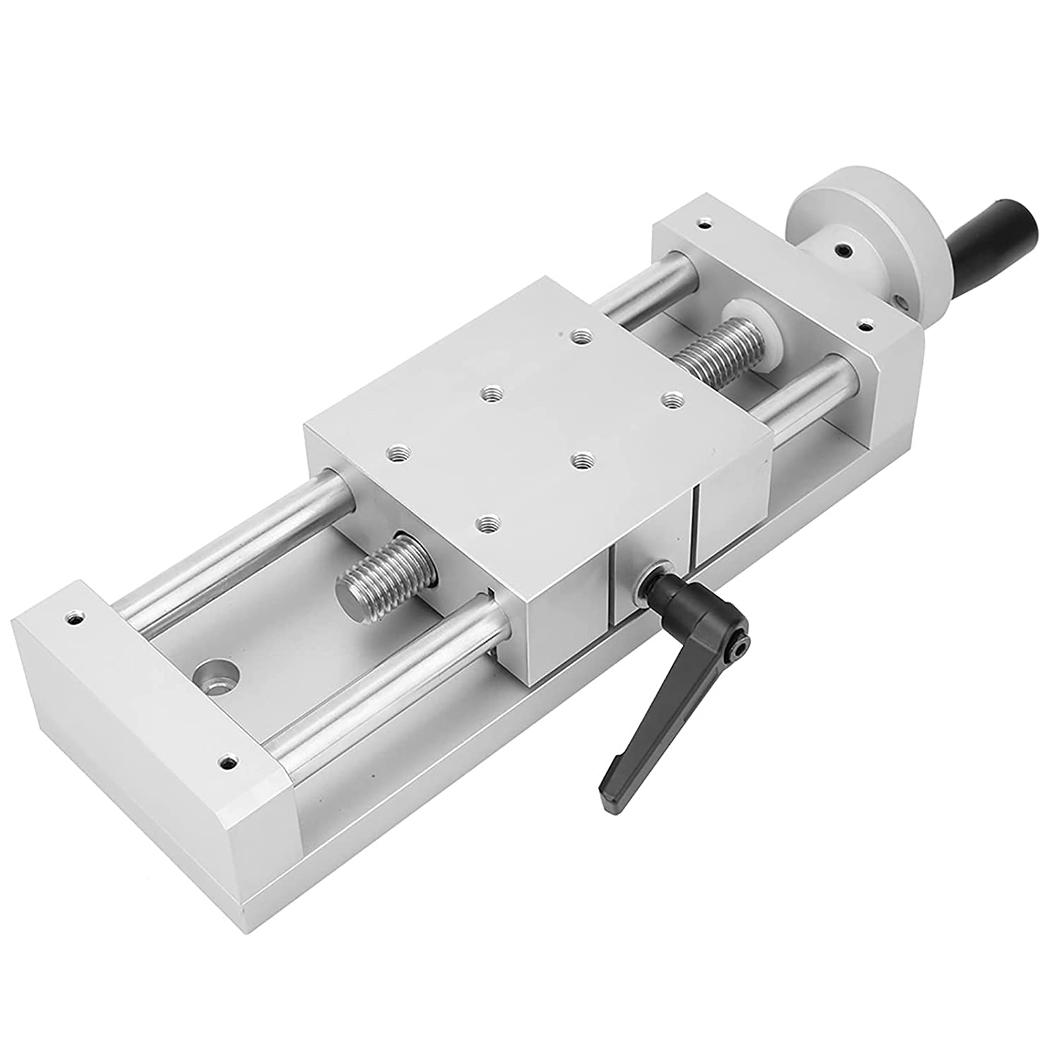Attention brand Linear Bombing free shipping Stage Sliding Table Scr Clamp Manual