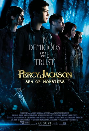 Percy Jackson SEA of Monsters Poster Approx Size 11X8 INCHES