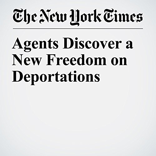 Agents Discover a New Freedom on Deportations copertina