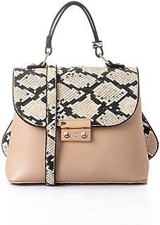 ليله حقيبة للنساء-بيج - حقائب بمقبض علوي
