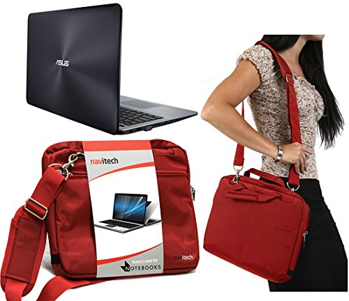 Navitech Armabands Rotes 089 ASUS EeeBook X205TA