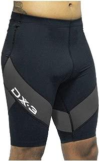 Bermuda de Triathlon DX3 X-Pro Ironman Unissex - Preto/Chumbo