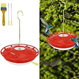Hummingbird Feeders for Outdoors, Bird Feeders,Leak-Proof Hummer Bird Feeder for Outdoors, Window, Easy to Clean and Fill,Including 3 Cleaning Brush