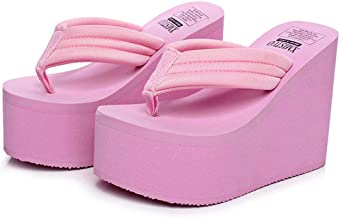 Women's Summer Fashion Creative High Heel Flip Flops