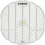 Vectair Systems BCV163-YL V Urinal Screen, Yellow Citrus Mango/Transparent Light Grey, Pack of 12