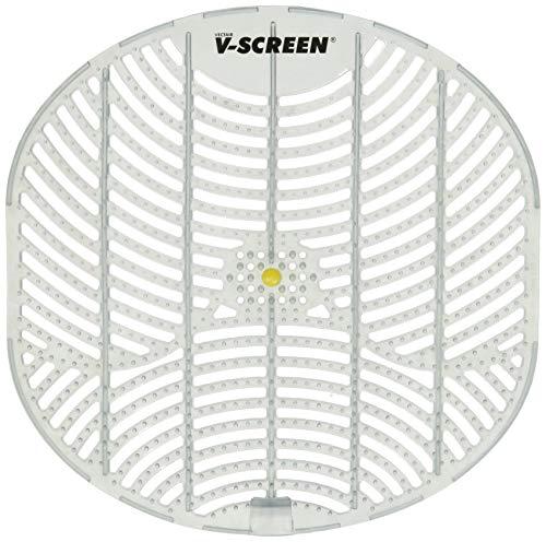 Vectair Systems BCV163-YL Urinal Bildschirm, Gelb Citrus Mango, Transparent Lichtgrau, 12Stück