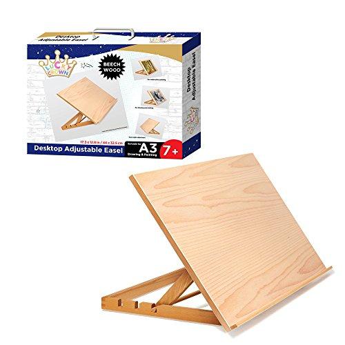 wood art easel - 7