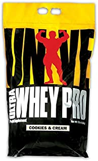 Universal Nutrition Ultra Whey Pro, Cookies and Cream, 10-Pounds