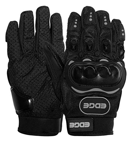Guantes Motociclista marca EDGE MOTORCYCLE PARTS AND ACCESSORIES